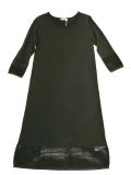 schwarzes Strickkleid von Malvin