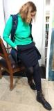 Outfit Pullover, Rock -Taifun,  Weste - Malvin